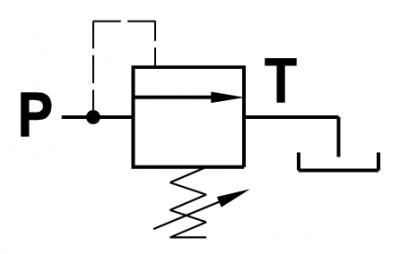 Valvola di regolazione pressione con cono guidato ad azione diretta - Possibilità di montaggio a pannello