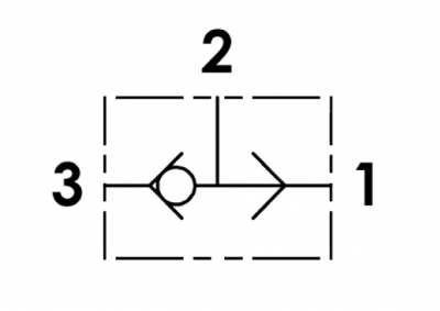 Valvola di commutazione, versione a cartuccia, cavità SAE