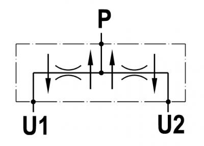 Divisore/riunificatore flusso