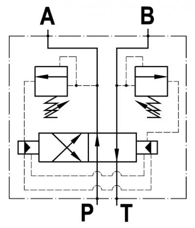 Invertitore automatico ad aumento di pressione, flangiato CETOP 3